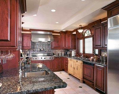 decoracion de cocinas estilo rustico