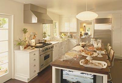 Fotos de decoraci n de cocinas en color blanco - Cocinas decoradas en blanco ...