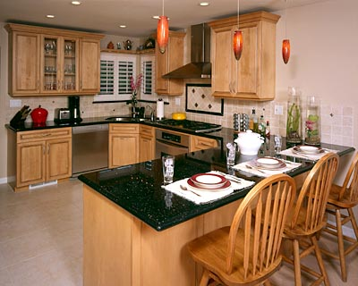 decoracion de cocinas con marmol