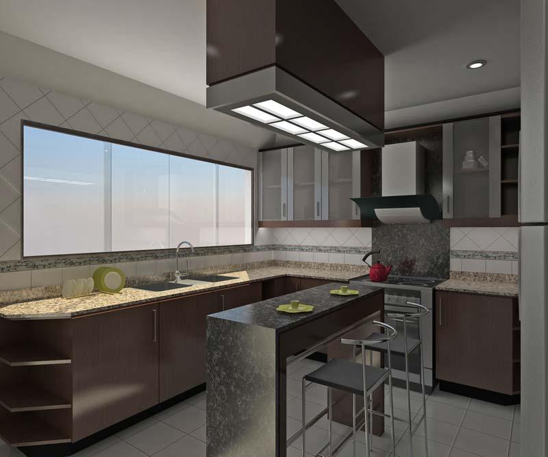 Cualidades principales del dise o de cocinas 3d for Disenos de interiores de cocinas