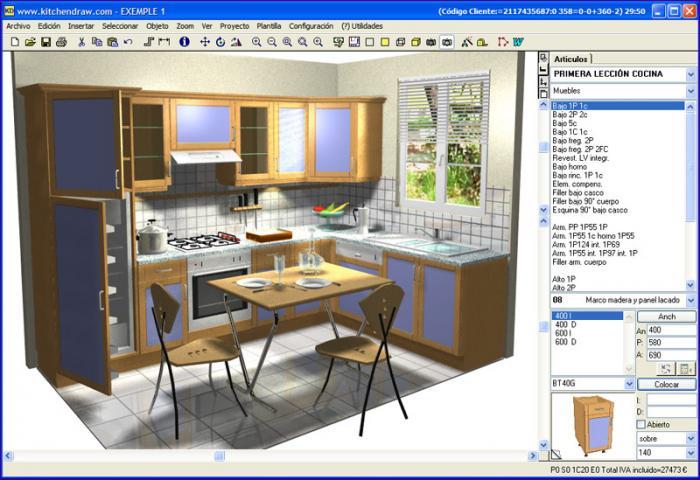 Cualidades principales del dise o de cocinas 3d for Diseno cocinas 3d gratis espanol