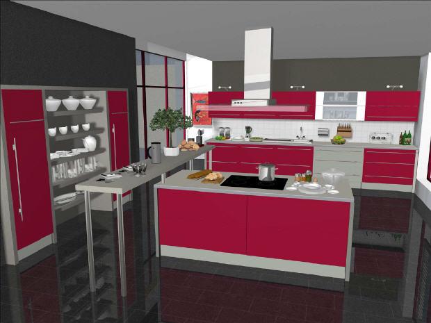 Coches manuales diseno 3d de cocinas for Ver disenos de cocinas integrales