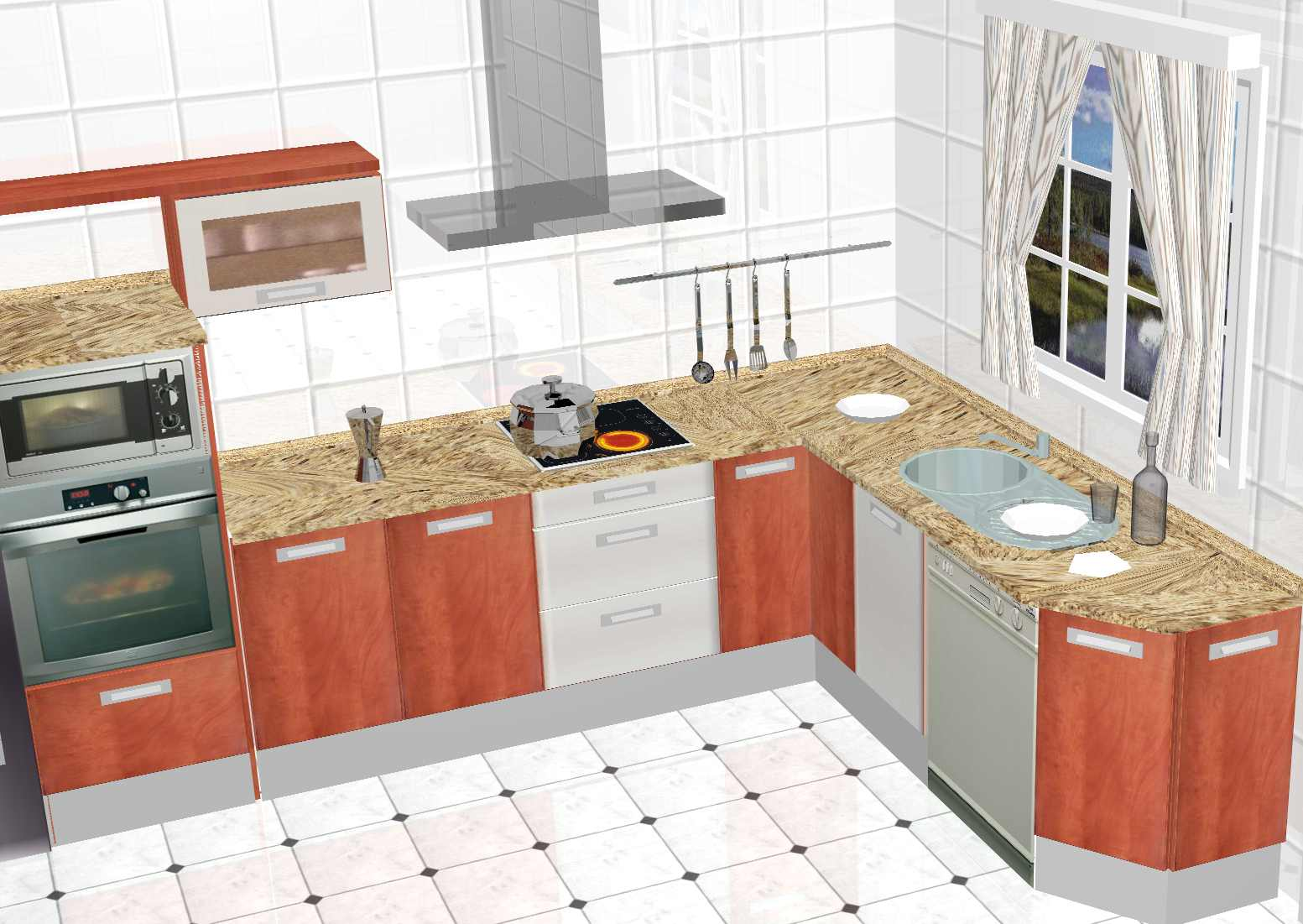 Cualidades principales del dise o de cocinas 3d - Diseno para cocinas modernas ...