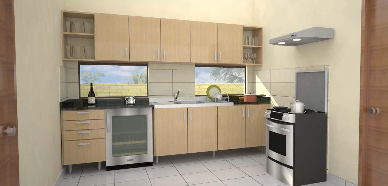 Cualidades principales del dise o de cocinas 3d for Programa para cocinas
