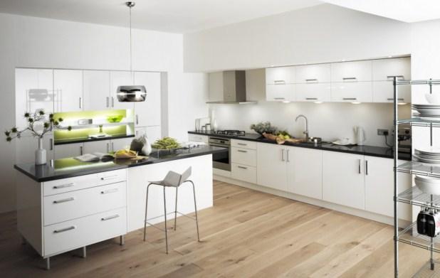 Decoraci Ef Bf Bdn De Color Para Cocinas Blancas