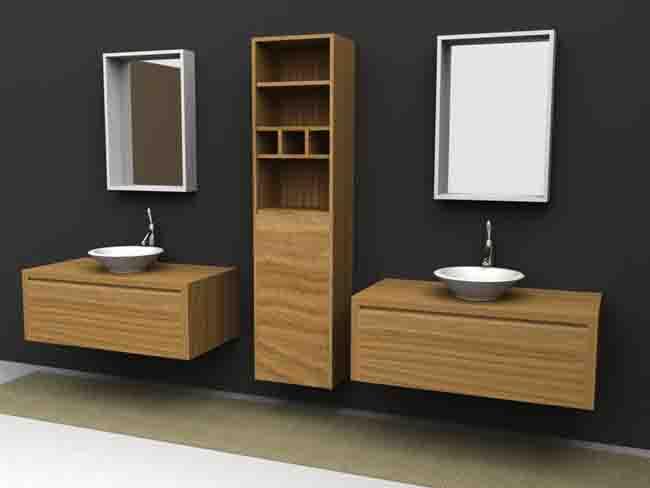 Accesorios De Baño Economicos:Muebles De Madera Para Banos