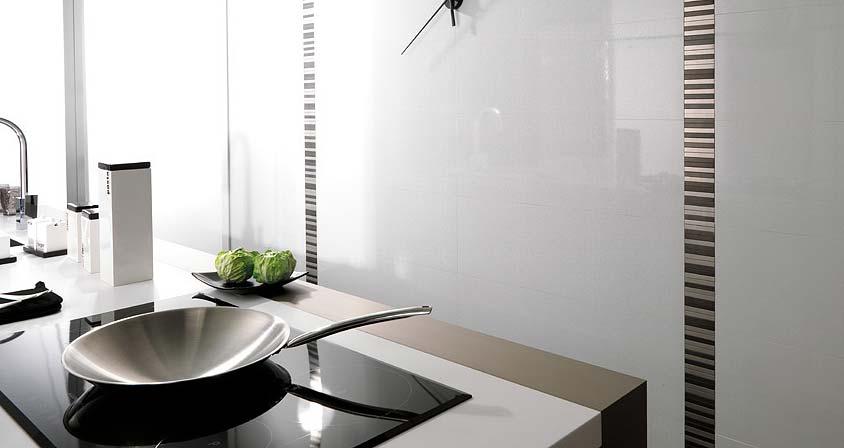 La cualidad principal de los azulejos para cocinas modernas for Ceramicas para cocinas modernas