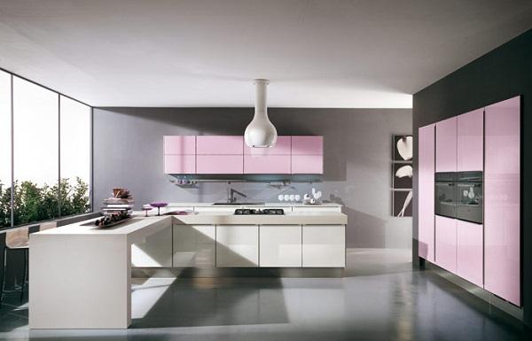 Decoración de cocinas modernas – la combinación de colores