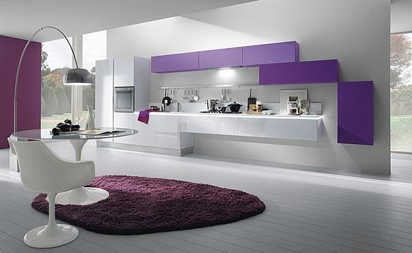 Decoraci n de cocinas modernas la combinaci n de colores for Alacenas de cocina modernas