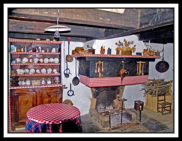 Decoraci n moderna de cocinas diferencia con las cocinas Cocinas antiguas