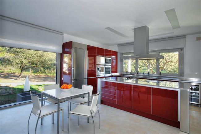 Dise os en mesas de cocina modernas for Ver disenos de cocinas