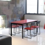 Diseños en mesas de cocina modernas