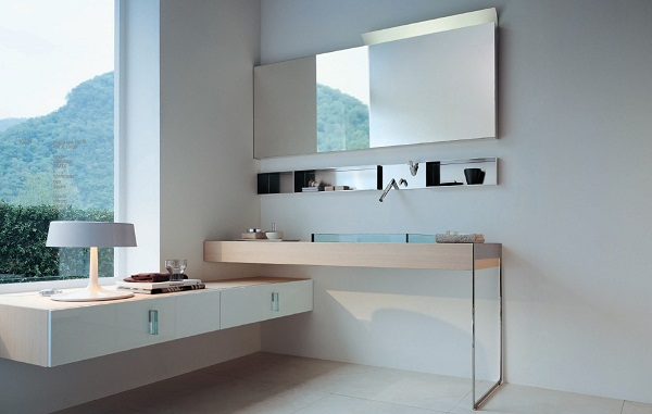 Muebles de baño de diseño accesibles