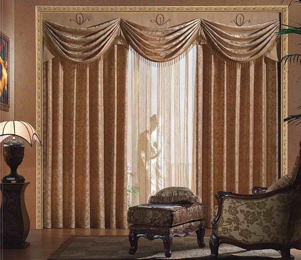 Foto de cortinas de cocina modernas