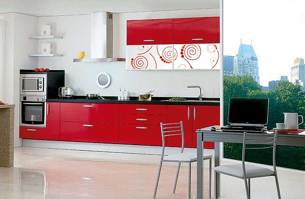 Decoraci n cocina moderna Decoracion indu moderna