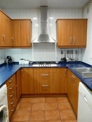 Diferentes tipos de cocinas for Cocinas modernas pequenas en forma de l