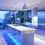 Tecnología y vanguardia en la iluminación de cocinas