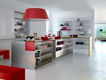 Ideas Practicas Para El Diseno De La Cocina - Cocinas-practicas-y-modernas