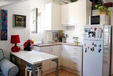 Como dise ar una cocina peque a for Como amueblar una cocina pequena
