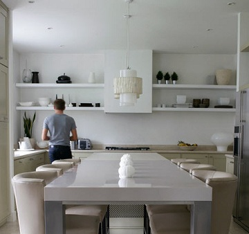 Dise os de cocinas con anaqueles y estantes for Modelos de anaqueles de cocina