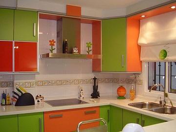 Carta de colores para una cocina for Marmol color naranja
