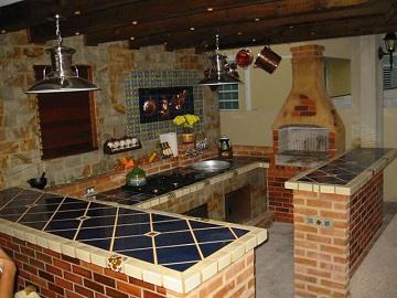 Cocina con estilo r stico for Cocinas modernas estilo americano