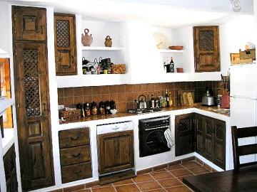 Decorando Tu Cocina Con Estilo Rustico - Como-disear-una-cocina-rustica