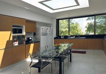 Ideas para iluminar la cocina con luz natural - Casas con luz natural ...