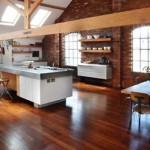 Cocina en un Loft: cocinas de planta abierta.