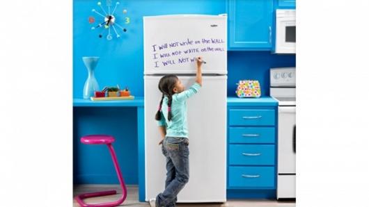 Refrigeradora con pizarra incluida Amanajot