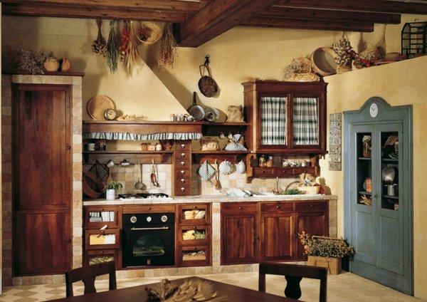 Cocinas r sticas bien dise adas te sorprender n for Pisos de cocinas rusticas