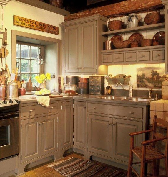 Decorando tu cocina con estilo r stico - Cocinas estilo rustico ...